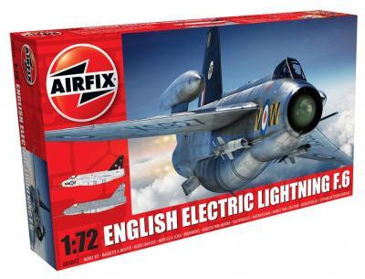 05042 - BAC/EE Lightning F.6 1/72
