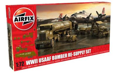 06304 - 	USAAF Bomber Re-supply Set 1/72