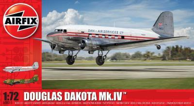 08015 - Douglas Dakota Mk.IV Dan-Air Services 1/72