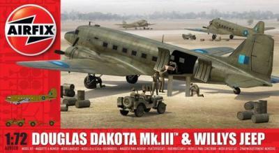 09008 - Douglas Dakota Mk.III with Willys Jeep 1/72