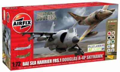 50134 - Douglas A-4P Skyhawk / BAe Sea Harrier FRS-1 (A-4B Skyhawk) Dogfight Double 1/72