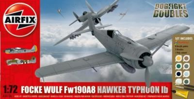 50136 - Dogfight Double Focke-Wulf 190A & Hawker Typhoon Mk.Ib Starter Set 1/72