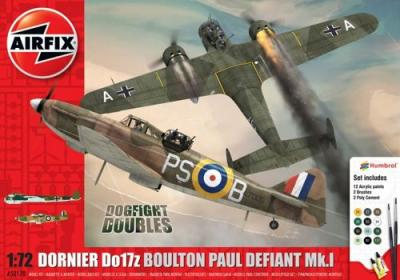 50170 - Boulton-Paul Defiant Mk.I and Dornier Do 17Z Dogfight Double 1/72