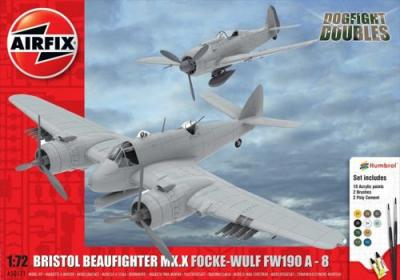 50171 - Bristol Beaufighter Mk.X and Focke-Wulf Fw 190A-8 Dogfight Double 1/72