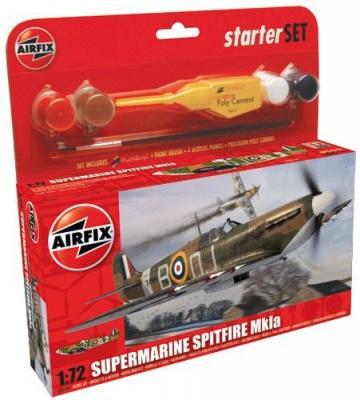 55100 - Supermarine Spitfire Mk.Ia Starter Set 1/72