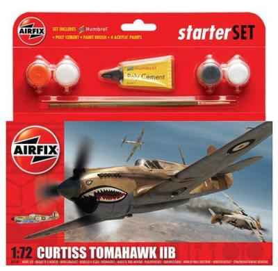 55101 - Curtiss Tomahawk IIB RAF (P-40B) Starter Set 1/72