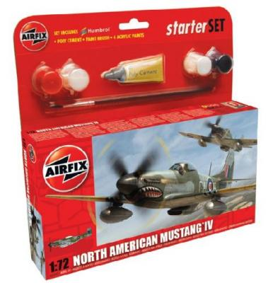 55107 - North-American Mustang IV Starter Set 1/72