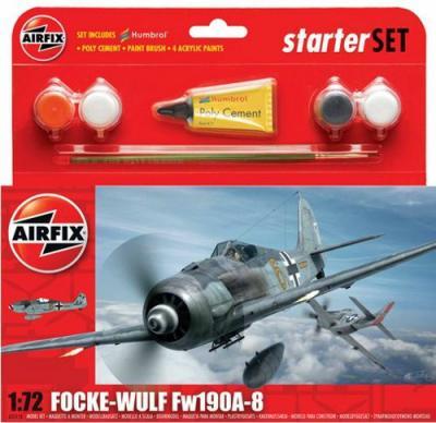 55110 - Focke-Wulf Fw 190A-8 Starter Set 1/72