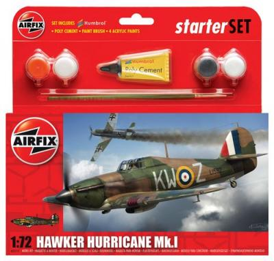 55111 - Hawker Hurricane Mk.I Starter Set 1/72