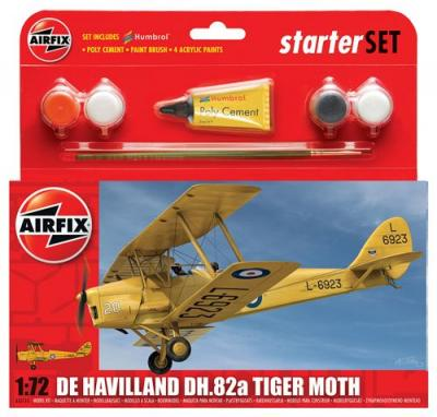 55115 - de Havilland DH.82 Tiger Moth Starter Set 1/72