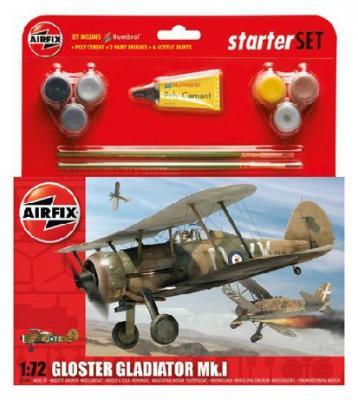 55206 - Gloster Gladiator Mk.I Starter Set 1/72