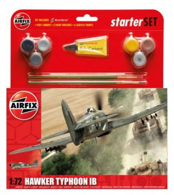 55208 - Hawker Typhoon Mk.Ib Starter Set includes 1/72