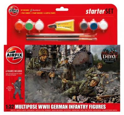 55210 - German WWII Infantry Multi-Pose