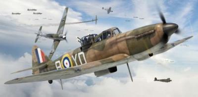 55213 - Boulton-Paul Defiant Mk.I Starter Set 1/72
