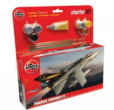 55301 - Panavia Tornado F.3 Starter Set includes 1/72