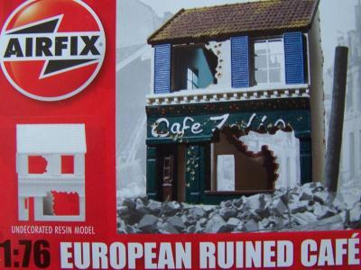 75002 - European Ruined Cafe 1/76