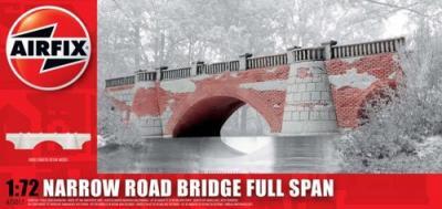 75011 - Narrow road bridge full span 1/76