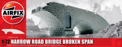 75012 - Narrow road bridge broken span 1/76