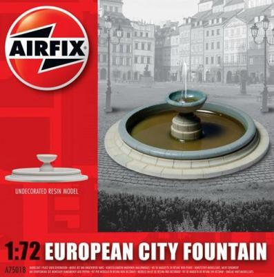 75018 - European City Fountain 1/72