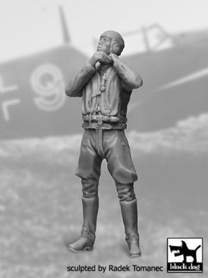32040 - Luftwaffe pilot N°3 figures
