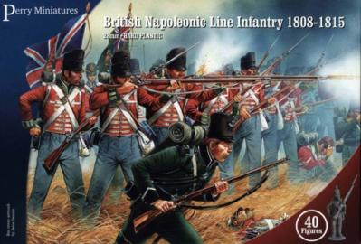 BH1 - British Napoleonic Line Infantry 1808-1815 28mm