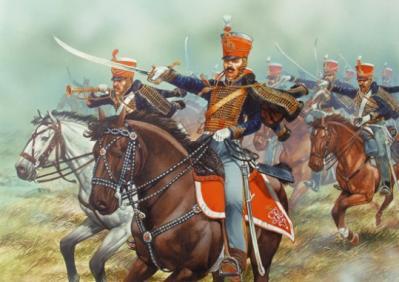 BH80 - Napoleonic British Hussars 28mm