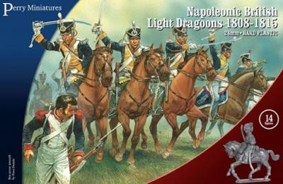 BH90 - Napoleonic British Light Dragoons 1808-15 28mm