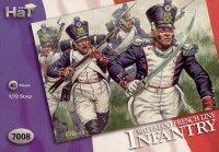 7008 - Infanterie de ligne française Waterloo 1/72