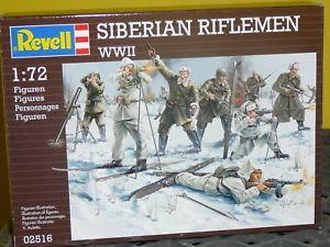 2516 - Siberian Riflemen WW2 1/72