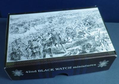 42nd Black Watch at the Battle of Tamai 1884  ( 15 figurines whit spare parts )