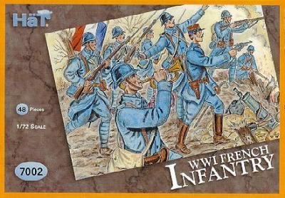 7003 - Infanterie française WW1 1/72