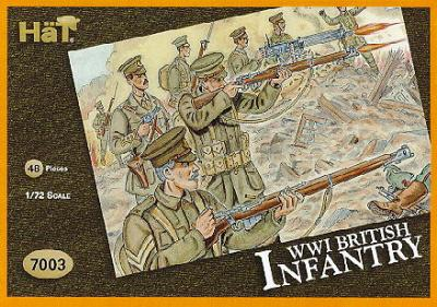 7002 - Infanterie anglaise WW1 1/72