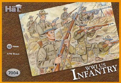 7004 - Infanterie US WW1 1/72