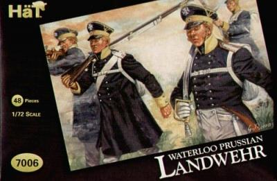 7006 - Infanterie de Landwehr prussienne 1/72