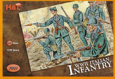 7007 - Infanterie italienne WW2 1/72