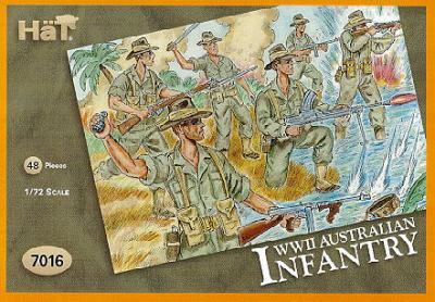 7016 - WW2 Australian Infantry 1/72