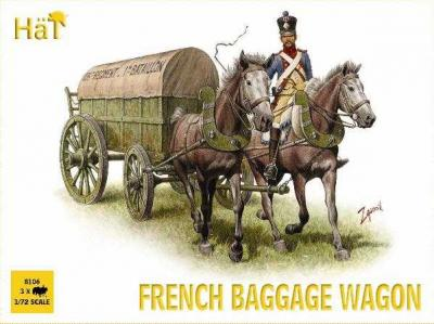 8106 - Napoleonic French Baggage Wagon 1/72