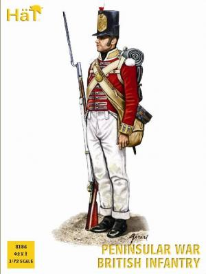 8186 - Peninsular War British Infantry 1/72