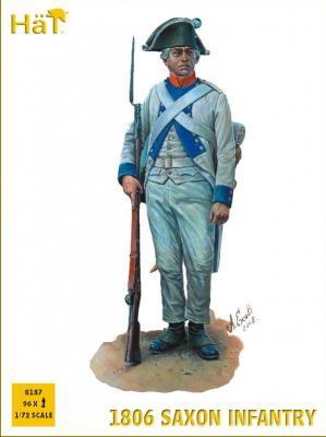 8187 - 1806 Saxon Infantry 1/72