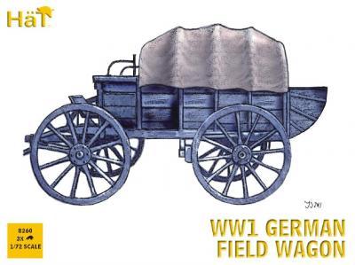 8260 - WW1 German Field Wagon 1/72
