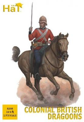 8288 - Colonial British Dragoons 1/72