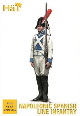 8302 - Infanterie de ligne espagnole 1/72
