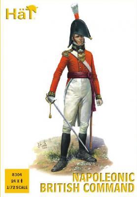 8304 - Napoleonic British Infantry Command 1/72