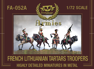 FA-052A French Lithuanian Tartars Troopers 1/72