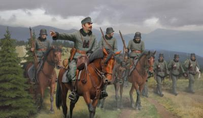074 - Austro Hungarian Honved Cavalry 1/72