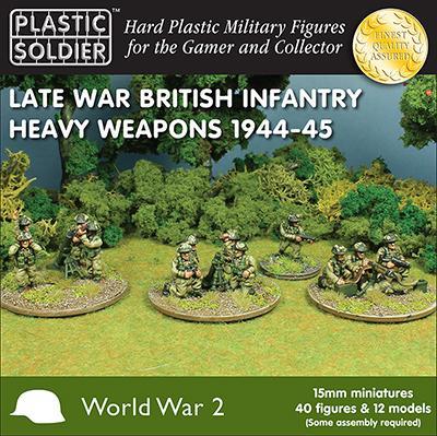 WW2015010 - Late War British Heavy Weapons1944-45 (WWII) 15mm