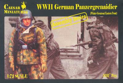 7714 - German Panzergrenadiers (Winter Greatcoat East) 1/72