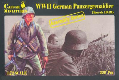 7715 - WW2 German Panzergrenadier (Kursk) 1/72