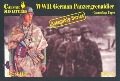 7717 - German Panzergrenadiers (Camouflage Capes) 1/72