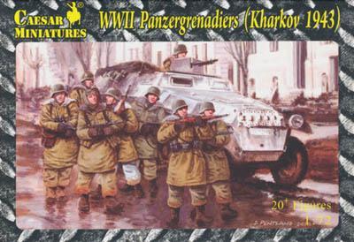 HB01 - Panzergrenadiers (Kharkov 1943) 1/72